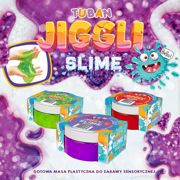 JIGGLY SLIME – PEARL PINK 200G